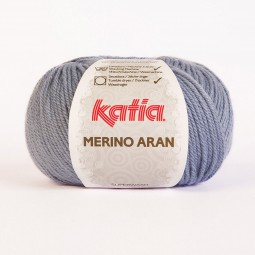 MERINO ARAN - AZUL CLARO (59)