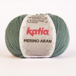 MERINO ARAN - AZUL GRIS (65)
