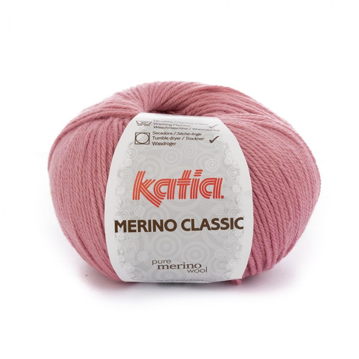 240 m Wolle 68 MERINO CLASSIC von Katia VISÓN - 100 g // ca