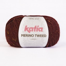 MERINO TWEED - GRANATE (407)