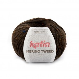 MERINO TWEED - MARRÓN (408)