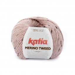 MERINO TWEED - ROSA PALO (312)
