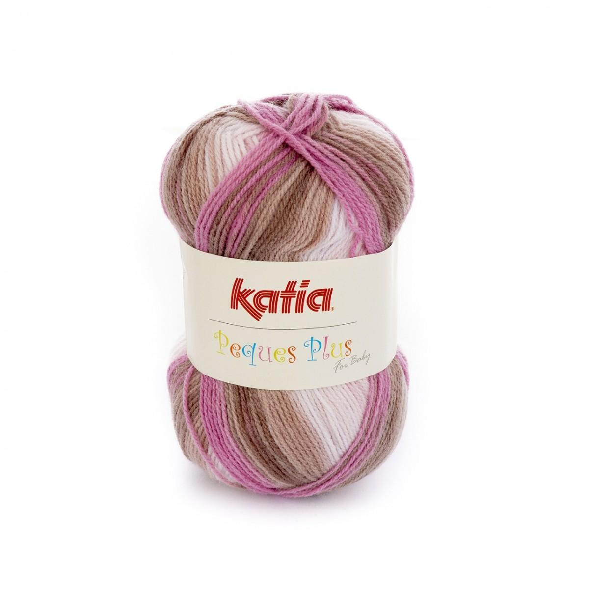 232 m Wolle ca PEQUES PLUS von Katia Farbe 50-50 g