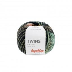 TWINS - TURQUESA/ AMARILLO/ CORAL (156)