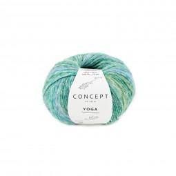 YOGA - CONCEPT - VERDES/ AZULES (205)