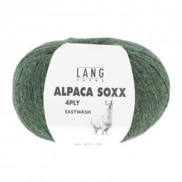 ALPACA SOXX 4-FACH/4-PLY - OLIVE MÉLANGE (0098)
