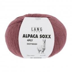 ALPACA SOXX 4-FACH/4-PLY - ROSENHOLZ (0087)