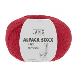 ALPACA SOXX 4-FACH/4-PLY - ROT (0060)