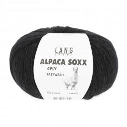 ALPACA SOXX 4-FACH/4-PLY - SCHWARZ (0004)