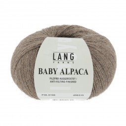 BABY ALPACA - HELLBRAUN (0196)