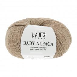 BABY ALPACA - HELLBRAUN MELANGE (0096)