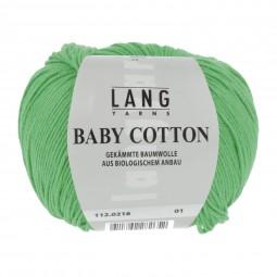 BABY COTTON - APFELGRÜN (0216)