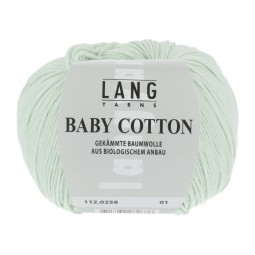 BABY COTTON - BLASSGRÜN (0258)