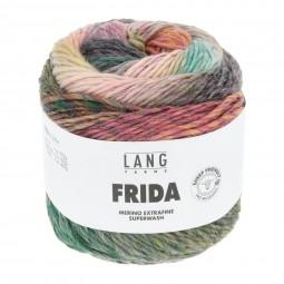 FRIDA - GRÜN/ ORANGE (0005)