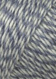 JAWOLL - BLAU/ HELLGRAU MOULINE (0151)