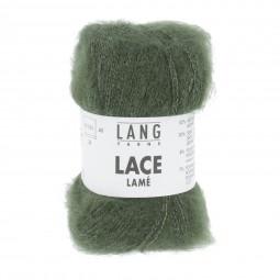 LACE LAMÉ - OLIVE (0098)