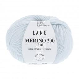 MERINO 200 BÉBÉ - BABY BLAU (0506)