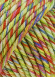 MERINO 50 COLOR - GELB/ BUNT (0013)