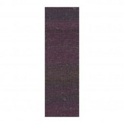 MILLE COLORI SOCKS & LACE LUXE - AUBERGINE/ GOLD (0080)