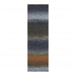 MILLE COLORI SOCKS & LACE LUXE - HELLGRAU/ NOUGAT (0103)