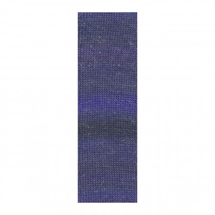MILLE COLORI SOCKS & LACE LUXE - MARINE/ SILBER (0035)