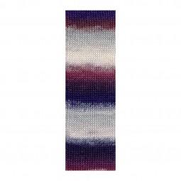 MILLE COLORI SOCKS & LACE LUXE - NELKE/ ROSA/ GRAU (0065)
