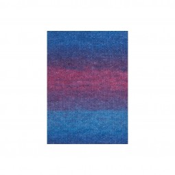 MOHAIR LUXE COLOR - BLAU (0006)