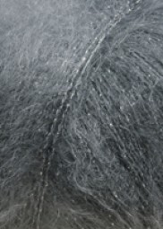 MOHAIR LUXE LAMÉ - ANTHRAZIT/ SILBER (0070)