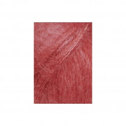 MOHAIR LUXE - ROT HELL (0161)