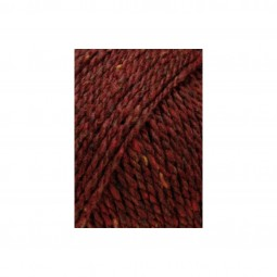 YAK TWEED - BORDEAUX (0064)