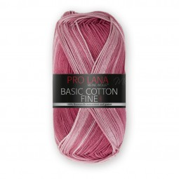 BASIC COTTON FINE COLOR - HIMBEER COLOR (281)