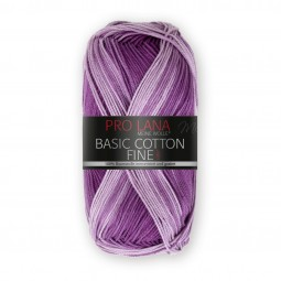 BASIC COTTON FINE COLOR - LILA COLOR (282)