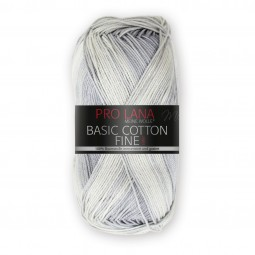 BASIC COTTON FINE COLOR - SILBER COLOR (286)