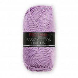 BASIC COTTON FINE UNI - FLIEDER (41)