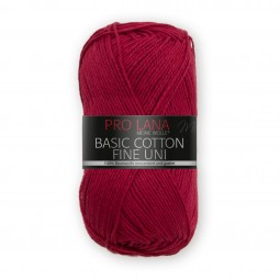 BASIC COTTON FINE UNI - KIRSCH (31)