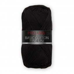 BASIC COTTON FINE UNI - SCHWARZ (99)