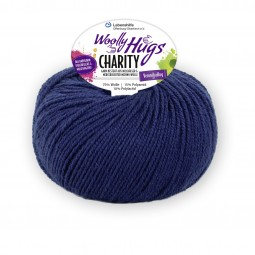 CHARITY Woolly Hug´s - MARINE (50)