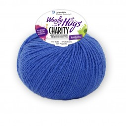 CHARITY Woolly Hug´s - ROYAL (51)