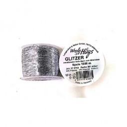 GLITZER Woolly Hug´s - SILBER (301)