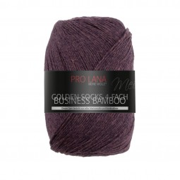 GOLDEN SOCKS BUSINESS BAMBOO - BORDEAUX MELIERT (506)