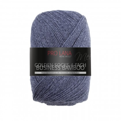 GOLDEN SOCKS BUSINESS BAMBOO - DUNKELBLAU MELIERT (503)