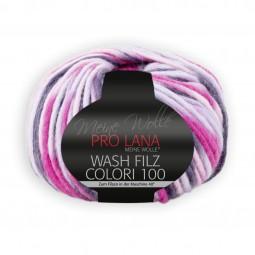 WASH-FILZ COLORI 100 - ROSA/ PINK (710)