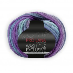 WASH-FILZ EXCLUSIVE - PETROL/ LILA (02)