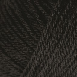 PURE WOOL 4PLY - BLACK (00404)