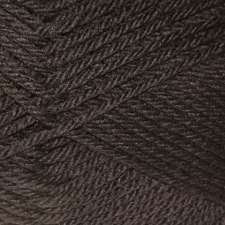 PURE WOOL WORSTED - CHOCOLATE (00109)