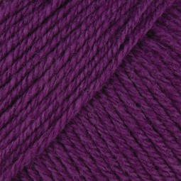 WOOL COTTON 4PLY - MAGENTA (00507)