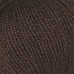 WOOL COTTON - COFFEE RICH (00956)