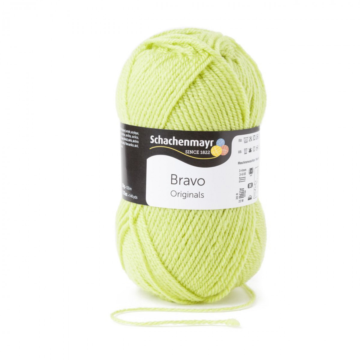 BRAVO von Schachenmayr - 50 g // ca 133 m Wolle 08325 ANIS