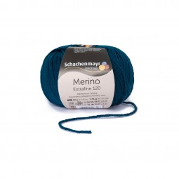 MERINO EXTRAFINE 120 - TEAL (00164)