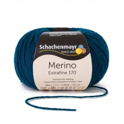MERINO EXTRAFINE 170 - TEAL (00064)